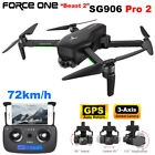 Force One SG906 Pro 2 Foldable GPS RC Drone with 4K HD Camera 3 Axis Gimbal