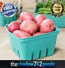 250 CASE 1 Quart Green Berry Produce Basket Molded Pulp Cardboard Container