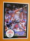 Jose Canseco - 1990 Starting Line-up Autographed Baseball card, Oakland A's, OF