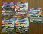 5 JOHNNY LIGHTNING Dragsters USA