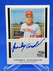 2003 Team Topps Legends Sparky Anderson Auto On Card Autograph