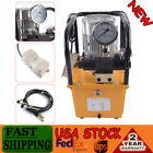 10000 PSI Double Solenoid Valve Double acting110V Electric Driven Hydraulic Pump
