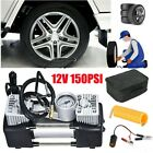 Portable Air Compressor Car Tyre Auto Tire Inflator Pump 12V 150PSI Heavy Duty