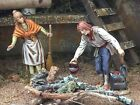 Nativity Village Shepherd Figurines for 35Landi Presepio Figuras Pesebres