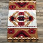 Aztec Indian Throw Blanket Or Wall Hanging 30 X 47 Tribal Boho Hippy Native