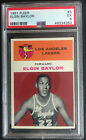 1961-62 Elgin Baylor Fleer #3 RC Rookie Card - PSA 5 EX - Lakers