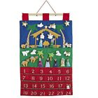 Magic Cabin Fabric Nativity Advent Calendar for Kids