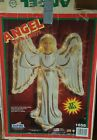 Vintage Empire 33 Christmas Nativity Lighted Angel Plastic Blow Mold Box 1685