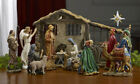 THREE KINGS REAL LIFE NATIVITY DELUXE SET 14 COMPLETE SET WITH EXTRAS