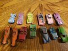 13 VINTAGE ANTIQUE TOOTSIETOY DIECAST CARS Wedge Dragster mixed