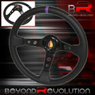 For Nissan Infiniti Heavy Duty Metal Steering Wheel Purple Sew Black Koreisha