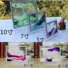 3D Moving Glass Liquid Photo Frame Birthday Hourglass Special Gift