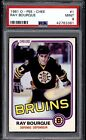 1981 82 OPC #1 RAY BOURQUE 2ND YEAR CARD PSA 9 MINT