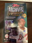 2020 Topps Archives Signature Series Retired Sealed Hobby Box