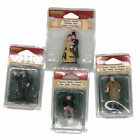 Lemax Village Figures Dickens Scrooge Conductor NEW