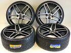 21 STAGGERED WHEELS RIMS FIT MERCEDES BENZ AMG S CLASS S550 06 2020 BLACK 5X112