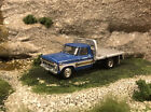 1976 Ford F 350 Flatbed 1 Ton Dually Custom Built 1 64 Diecast Truck Greenlight