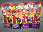PEZ, THE INCREDIBLE'S, MR. INCREDIBLE, ELASTI GIRL, DASH AND JACK-JACK PARR,NEW