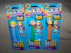 PEZ, BOB THE BUILDER DISPENSERS, BOB, SCOOP AND SPUD, NEW IN PACKAGE