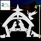 EasyGoProducts Outdoor Nativity Scene Set DecorationChristmas Yard 4 Foot