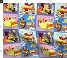 Children Christmas Elf Santa Claus Gifts Nativity Spoonflower Fabric by the Yard