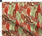 Feathers Native American Southwestern R Dc Spoonflower Fabric by the Yard