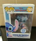 Stitch On Tricycle Funko Shop Exclusive Disney Funko Pop