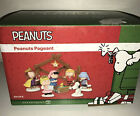 Dept 56 Peanuts Christmas Pageant Nativity Set of 8 Figures Original Box