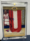 2011 Upper Deck All-Time Greats HAKEEM OLAJUWON LETTERMAN PATCH AUTO SSP # 2 4