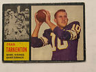 1962 Topps Football Cards 3