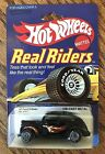 Vintage Hot Wheels Real Riders 40 Ford 2 Door No 4367 Black w Flames 164