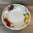 Soup Dish With Fruit Pattern Apple Lemon And BerriesGood Deal Made In China