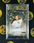 2019 TOPPS NOW DEREK JETER HALL OF FAME AUTOGRAPH 99 BGS 9.5 NY Yankess