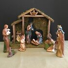 Classic Nativity Set of 12 Beautiful Set