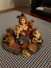 1999 Yesterdays Child Dollstone Collection Kelly and Company Bear Collector 3542