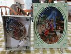 AMIA STUDIOS HAND PAINTED DRUMMER BOY STAINED GLASS SUNCATCHER + NITE LIGHT