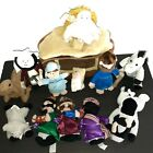 Plush Nativity Set The Christmas Story 13 Pc Stuffed Animals and Figures