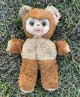 Rubber face teddy bear Glass Eyes Early Sewn No Tag EARLY Bear 11