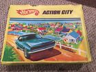 Vintage 1968 Mattel Hot wheels Action City Playset Matchbox Cars England Lesney