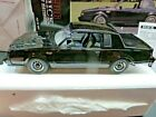 GMP 1986 Buick Regal Grand National Black 8005 1 18 scale Diecast Limited Ed Box