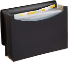 Folder File Organizer Letter Size Office School Supplies Expanding Files Black