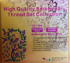 120 COLORS POLYESTER MACHINE EMBROIDERY THREAD FOR BROTHER 500M SPOOLS