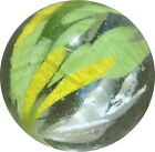 Quality Marbles end of day cloud marble mint EOD017