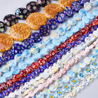 20 Strds Random Millefiori Lampwork Glass Beads Mixed Shape Loose Spacers 8 30mm
