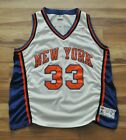 PATRICK EWING NEW YORK KNICKS NY AUTHENTIC STARTER JERSEY WHITE SEWN Men 52