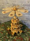 House Of Lloyd Christmas Around World Mini Wooden Windmill Nativity Candle Spin