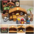 Fisher Price Little People Christmas Story 2005 Musical Light Up Nativity J2404