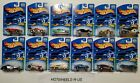 2001 Hot Wheels Treasure Hunt Complete Set 1 12Limited Edition