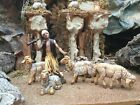 Nativity Scene Shepherdand Sheep Figurines for 35Landi Presepio Pastor Pesebre