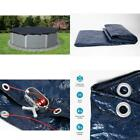 Swimming Pool Winter Cover Supply Above Ground Vinyl Coated Cable Rip Proof 24ft